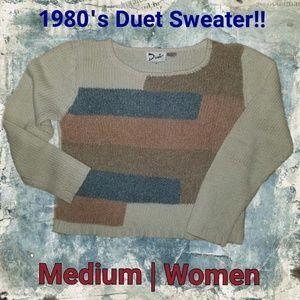 1980's Vintage Sweater | Size Medium